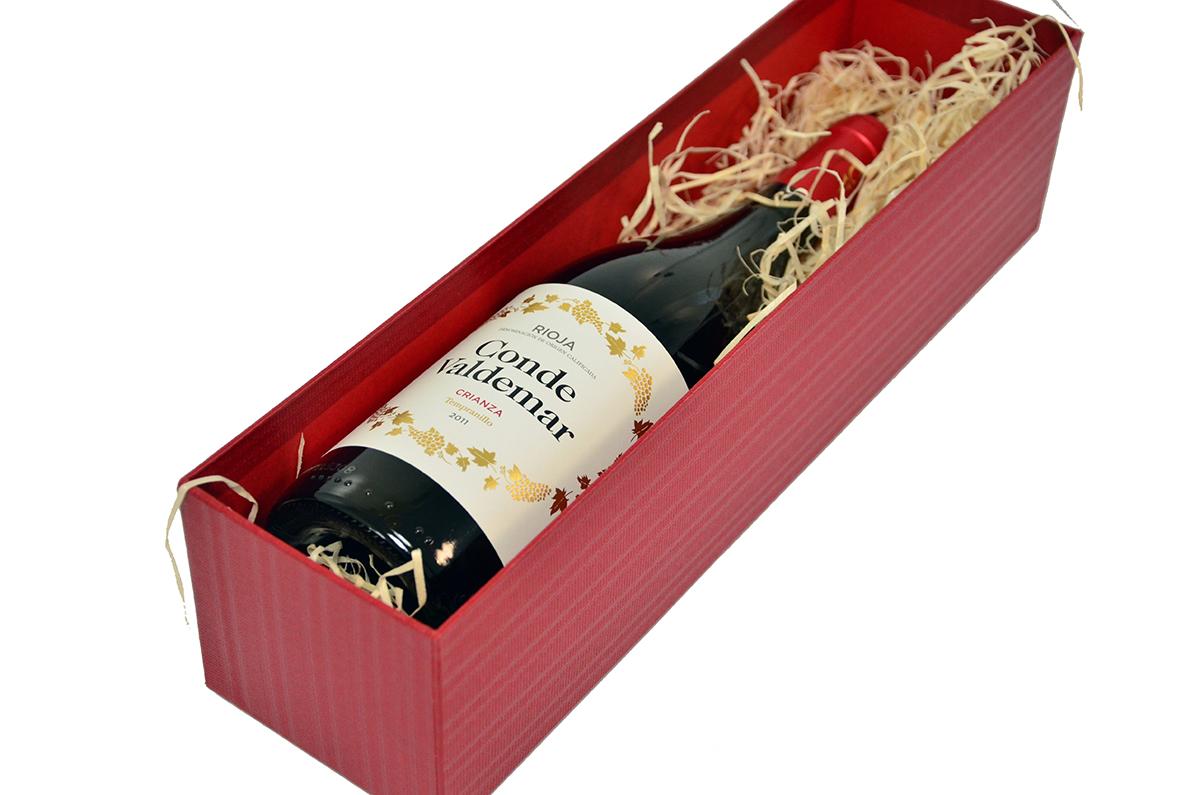 Rote Schachtel - Rioja Conde Valdemar