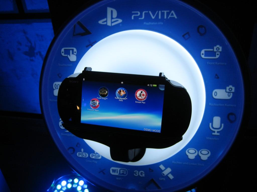 PlayStation Vita auf der Launch Party in Berlin