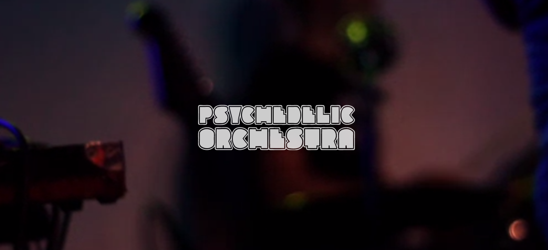 Website Psychedelic Orchestra