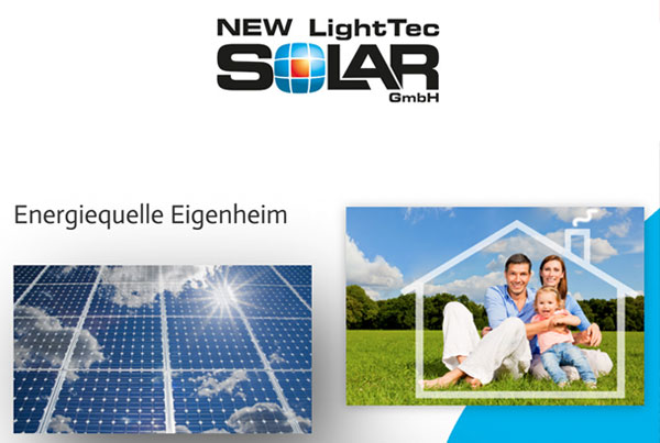 gruppenrausch Referenzen - New LightTec Solar